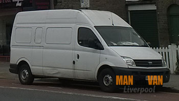 Affordable van hire in Parr